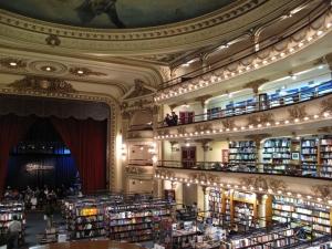 Die Libreria El Ateneo, ein ehemaliges Theather