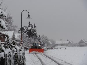 Winter im schweizer Flachland