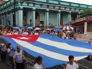 Die Prozession de la Virgen del Cobre