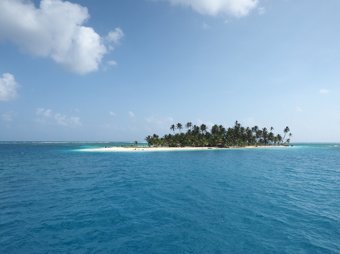 Eine Insel in Coco Banderos. Immer noch wunderschön.