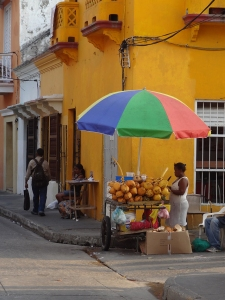 Farbenfrohes Cartagena
