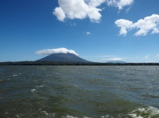 Die Isla Ometepe mit den Vulkanen Conception und Maderas