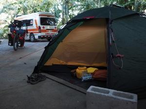 Beim Cruz Roja in Nicoya