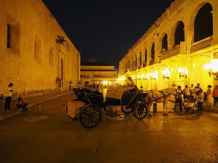 Warten auf die Touristen in Cartagena