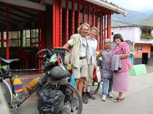 Anna Julia und ihre Angestellte vom Restaurante Donatti