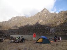 Camp Laguna Los Guaches auf 3'990 m.ü.M.