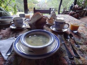 Andines Frühstück