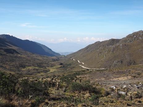 Die Troncha, die uns wieder auf fast 4'000 m.ü.M. führt