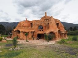 Die Casa Terracota bei Villa de Leyva