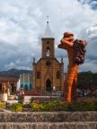 Die Plaza von Raquirá