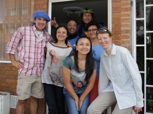 Ein letztes Foto in Bogota
