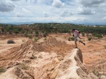 In der Tatacoa Wüste