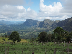 Impressionante Bergformationen