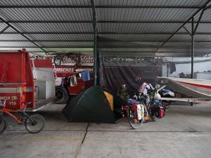 Das Büro bei den Bomberos in La Hormiga