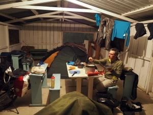 Camp in der alten Schule
