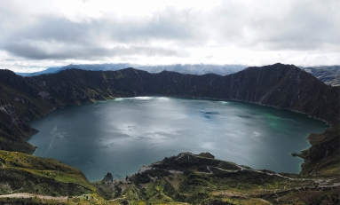 Das klassische Foto der Laguna Quilotoa