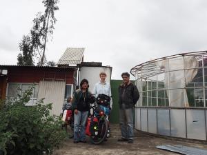 Mit Silvia und Daniel in Pujili
