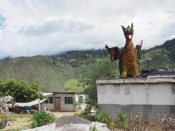 In Ecuador gibt es auch Drachen