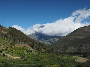 Heute zeigt sich sogar der Tungurahua