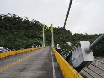 Die Brücke über den Rio Pastaza