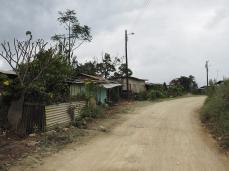 Dorfdurchfahrt auf dem Weg nach Süden