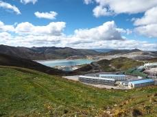 Ohne die Mine wäre es schöner und umweltfreundlicher hier