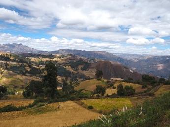 Peruanische Berglandscahft
