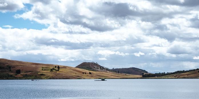 Bei der Laguna Sausacocha
