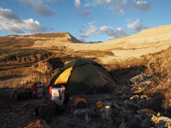 Mein Camp bei der Mina Comarsa