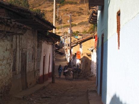Ein Dorf mit Leben