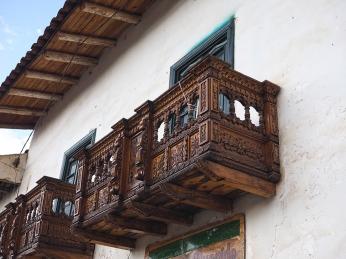 Beispiel eines Balkones