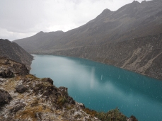 Die Lagune des Poroquinga