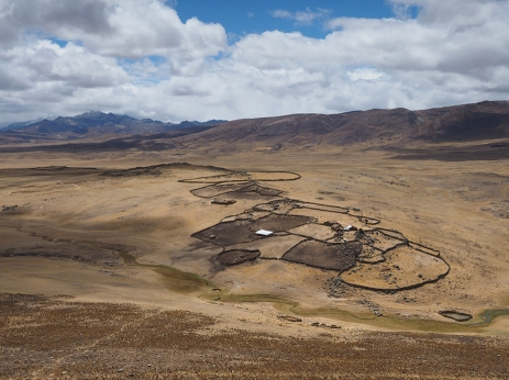 Hirtenkunstwerke in der Pampa