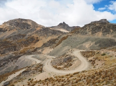 Was wäre ein peruanischer Pass ohne Kurven?
