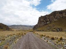 Fahrt durchs Cañonland