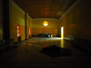 Mein Saal in der Catedral von Huancayo