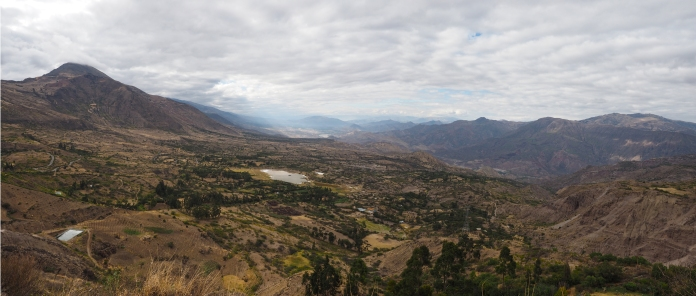 Abfahrt ins Tal des Rio Mantaro
