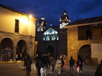 Der Templo de San Augustin bei der Plaza