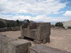 Der Doppelsitz des Inka