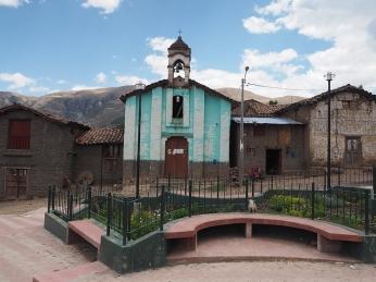 Die Plaza von Pongococha