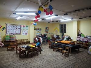 Im Kindergarten von Chilcayocc