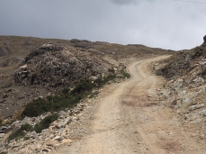 Aufstieg zum Paso Putongo