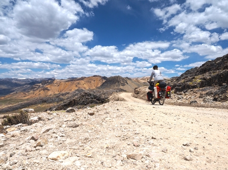 Abfahrt vom Abra Huacullo