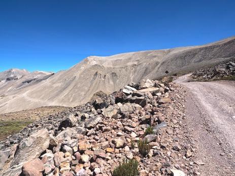 Aufstieg zum Abra Arcata