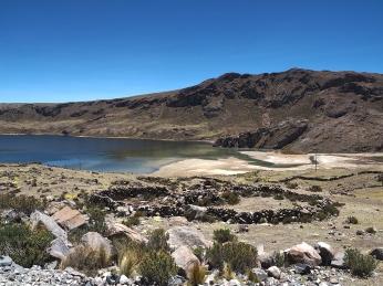 Die Lagune nach der Mina Arcata