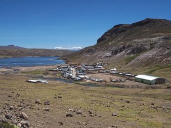 Arcata mit tollem Hintergrund