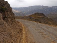Die letzen holprigen Kilometer nach Sibayo