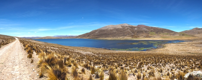 Die letzte Lagune vor dem Abra Mañazo
