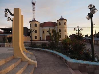 Die Plaza von Conima