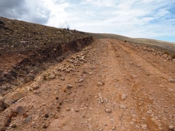 Eine letzte miese peruanische Piste